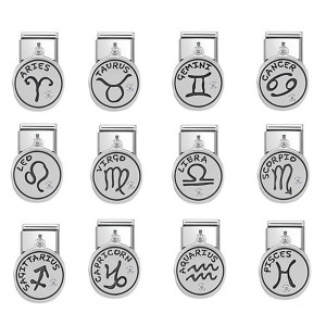노미네이션 COMPOSABLE Classic CHARMS ZODIAC stainless steel and silver 925 oxy 331808 (택1)