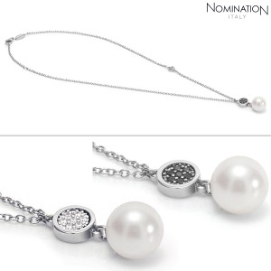 노미네이션 목걸이 LOTUS (로투스) necklace silver, stones and Swarovski Zirconia 043122(택1)