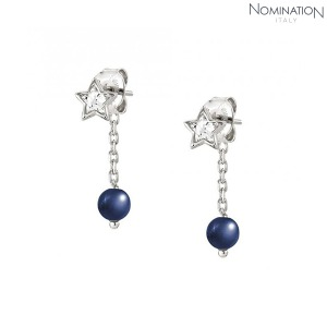 노미네이션 귀걸이 BELLA DREAM (벨라드림) earrings 925 silver, stones and crystal 146675/010