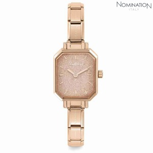 노미네이션 시계 PARIS (파리) Rose Gold Ladies Watch (Rose Glitter) 076031/025