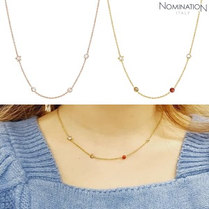 노미네이션 목걸이 BELLA DREAM (벨라드림) necklace 925 silver, stones and crystal 146658(택1)