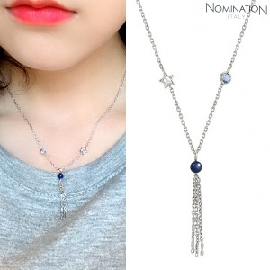 노미네이션 목걸이 BELLA DREAM (벨라드림) necklace 925 silver, stones and crystal PENDANT 146672/010
