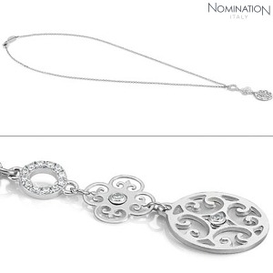 목걸이 PARADISO (파라디조) silver and Cubic Zirconia necklace 025502/001