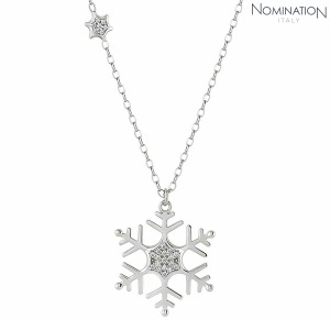 목걸이 WINTERLAND (윈터랜드) Necklace 925 silver and CZ Large Snowflake 147203/010