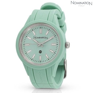시계 PURE (퓨어) coloured watch with soft-touch finish (Green) 071220/063