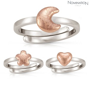 반지 ELBA (엘바) sterling silver, ROSE GOLD finish ring 142501(택1)