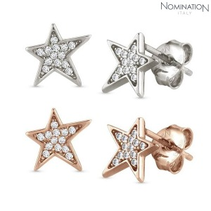 귀걸이 STELLA (스텔라) earrings 925 silver and cubic zirconia with stars (stud) 146714(택1)