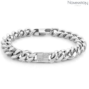 노미네이션 팔찌 BOND (본드) bracelet in stainless steel (Big Grumetta) 021955/009